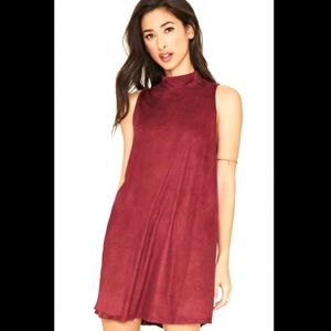 Dresses & Skirts - Suede Dress